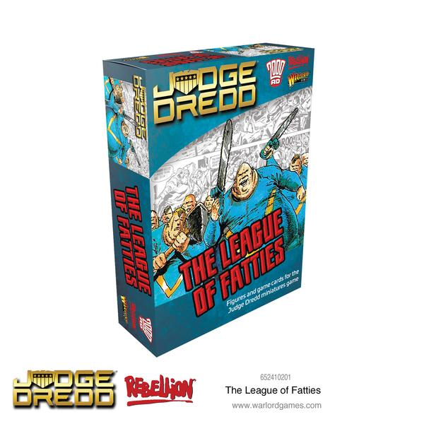 The League of Fatties, Judge Dredd