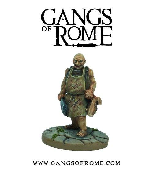 Cruentus, the Butcher, Gangs of Rome