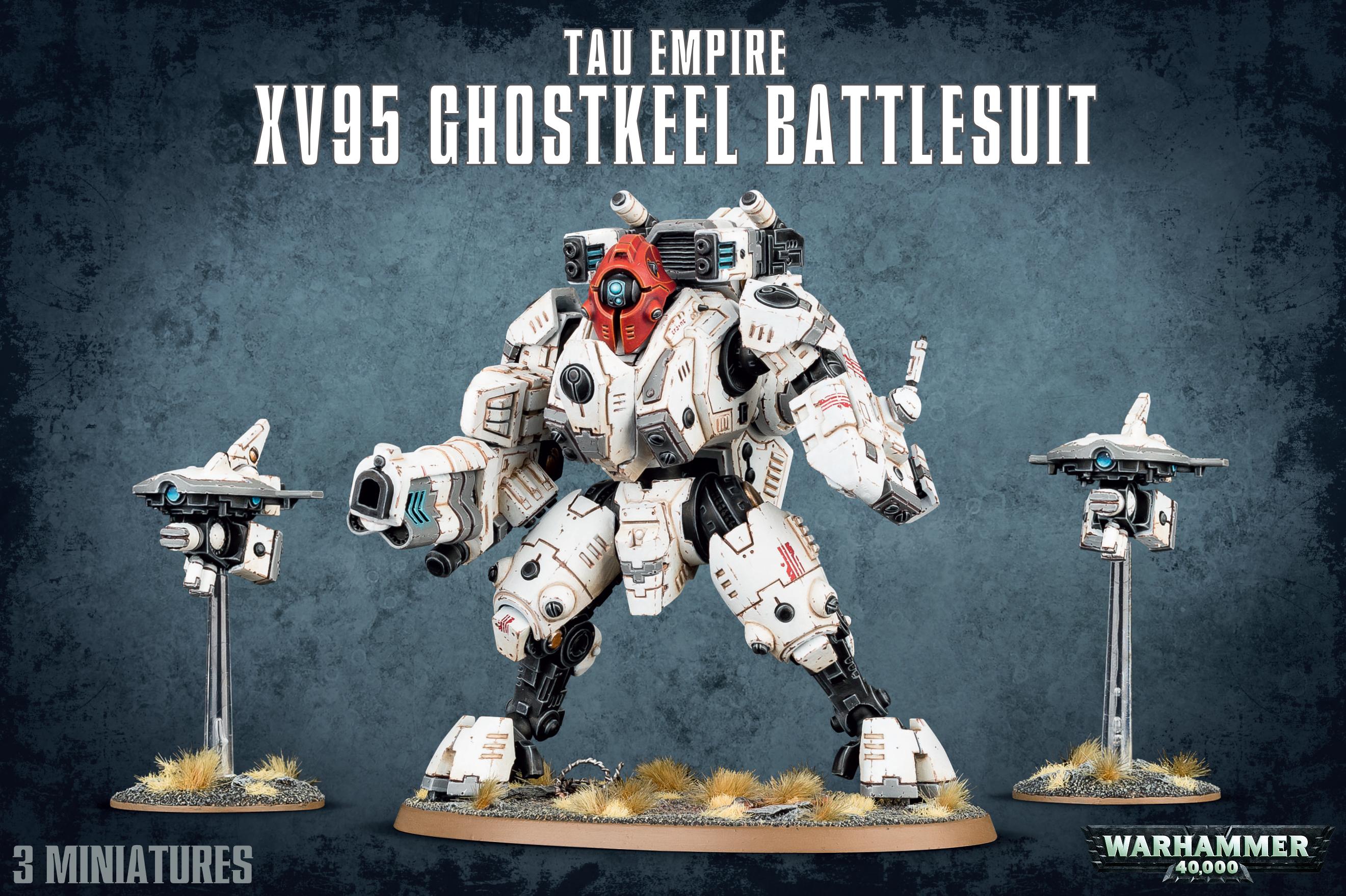 XV95 Ghostkeel Battlesuit, Tau Empire