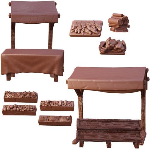 Market Stalls, Terrain Crate
