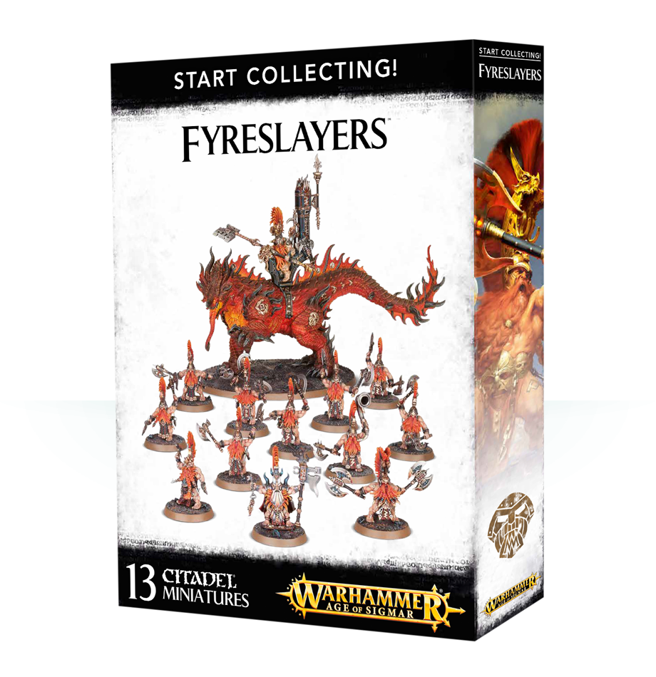 Fyreslayers, Start Collecting