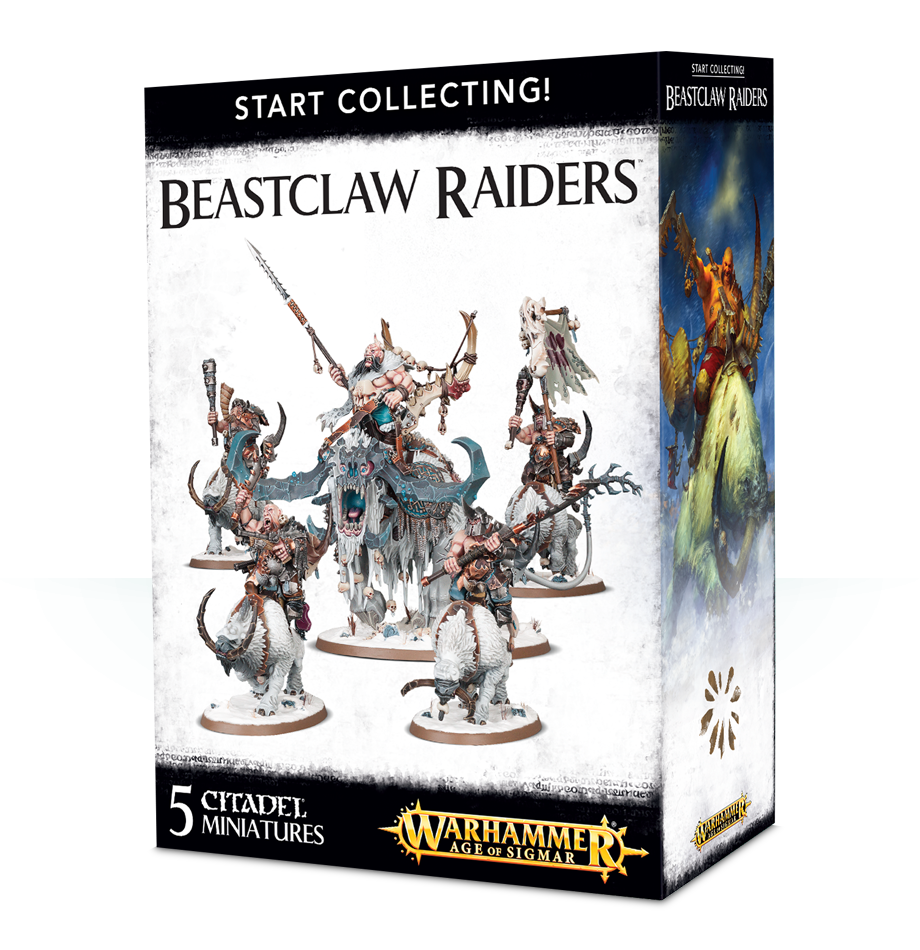 Beastclaw Raiders, Start Collecting