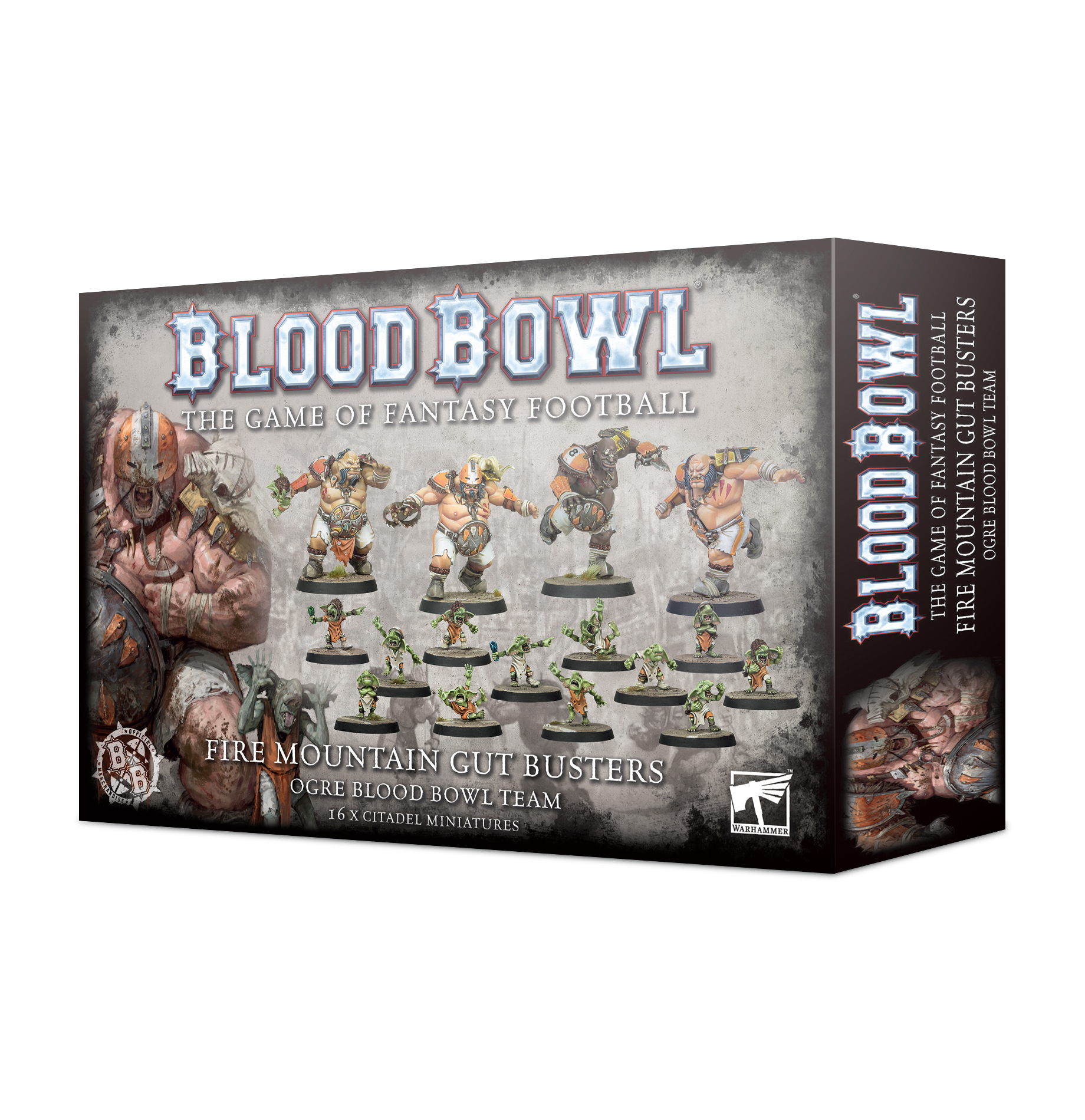 Fire Mountain Gut Busters, Bloodbowl