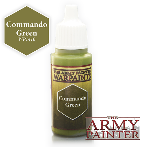 Commando Green, Army Painter