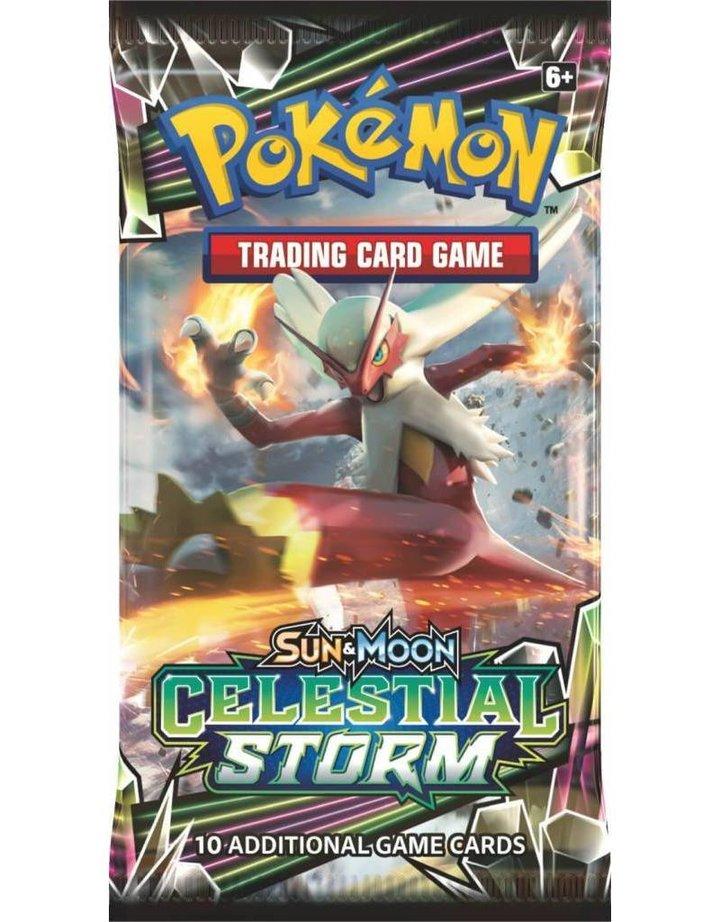 Pokemon Sun & Moon 7 Celestial Storm Booster