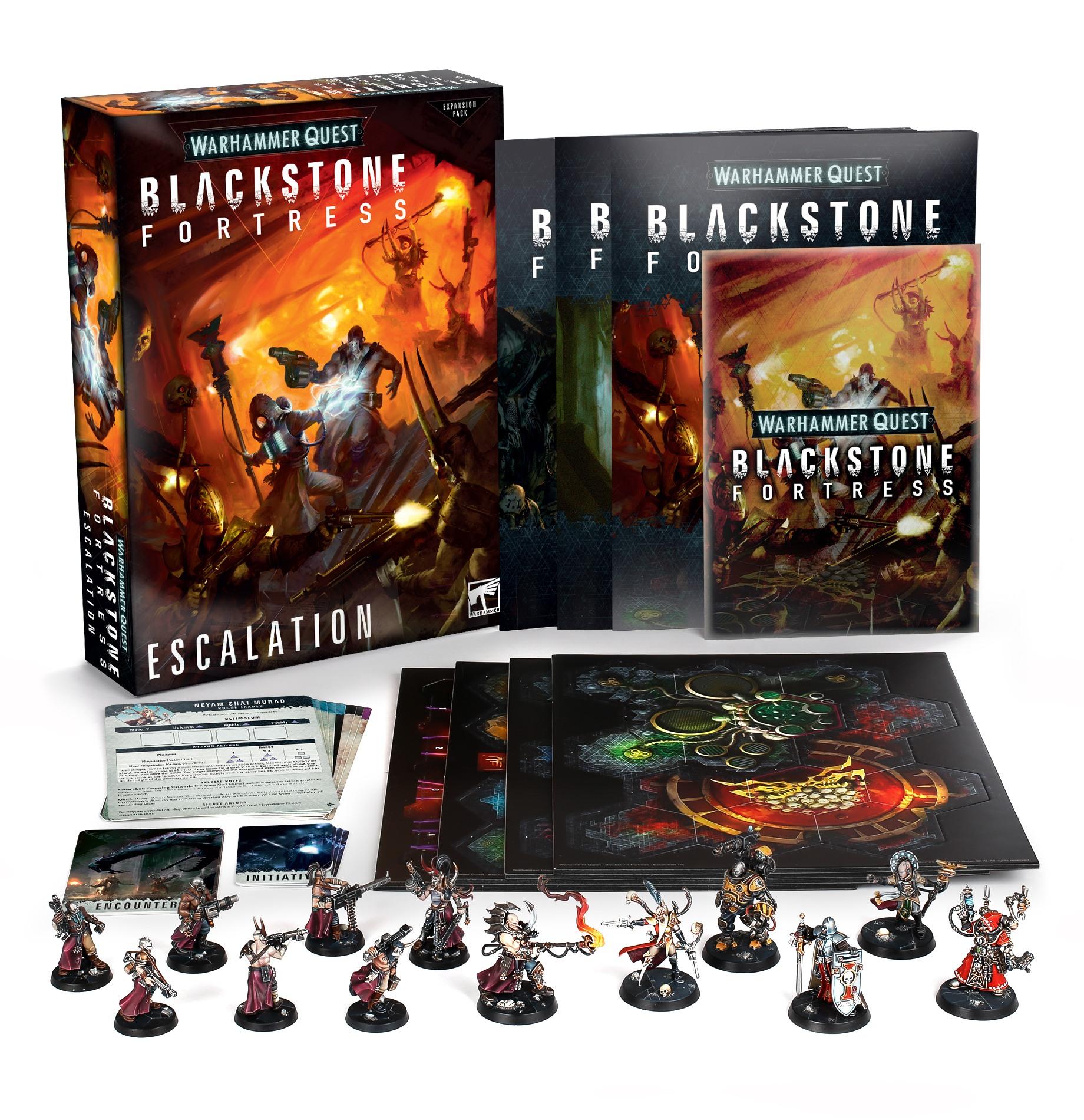 Escalation, Blackstone Fortress