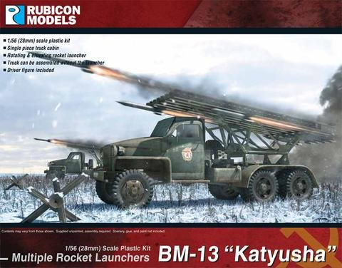 Soviet BM-13 Katyusha MRL, Rubicon Models