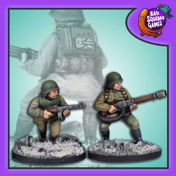 Soviet Flamethrower Team (ROKS3), Bad Squiddo Games