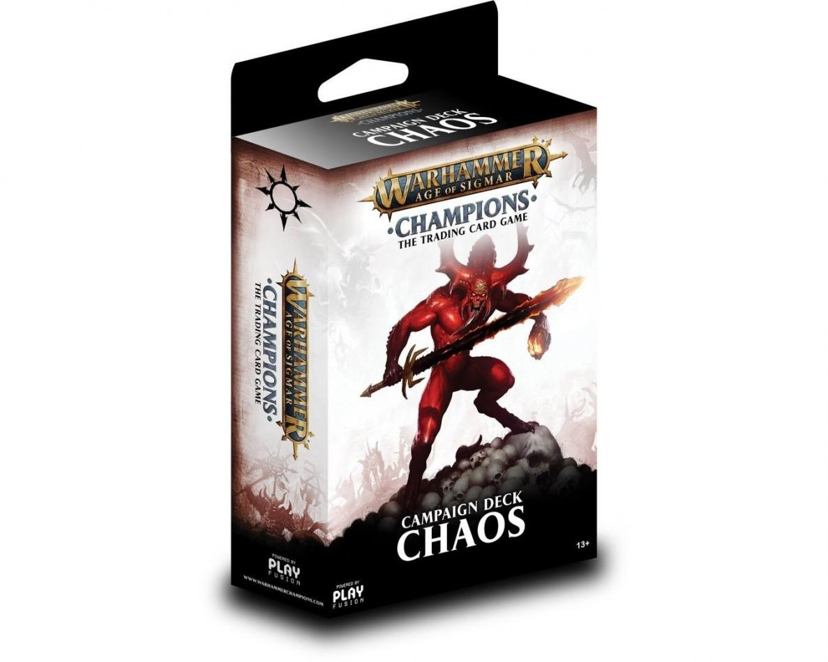 Champions Campaign Deck - Chaos, Warhammer Age of Sigmar Champions Wave 1