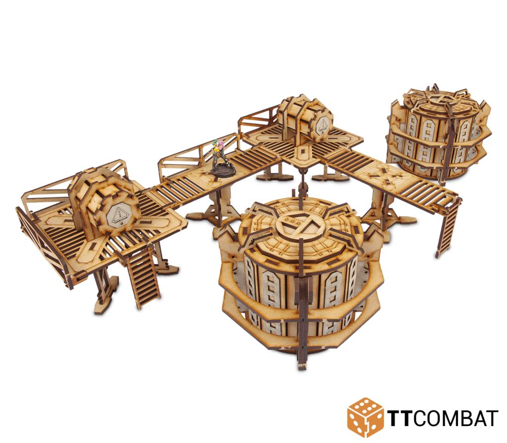 Strikezone: Chem Factory, TTCombat