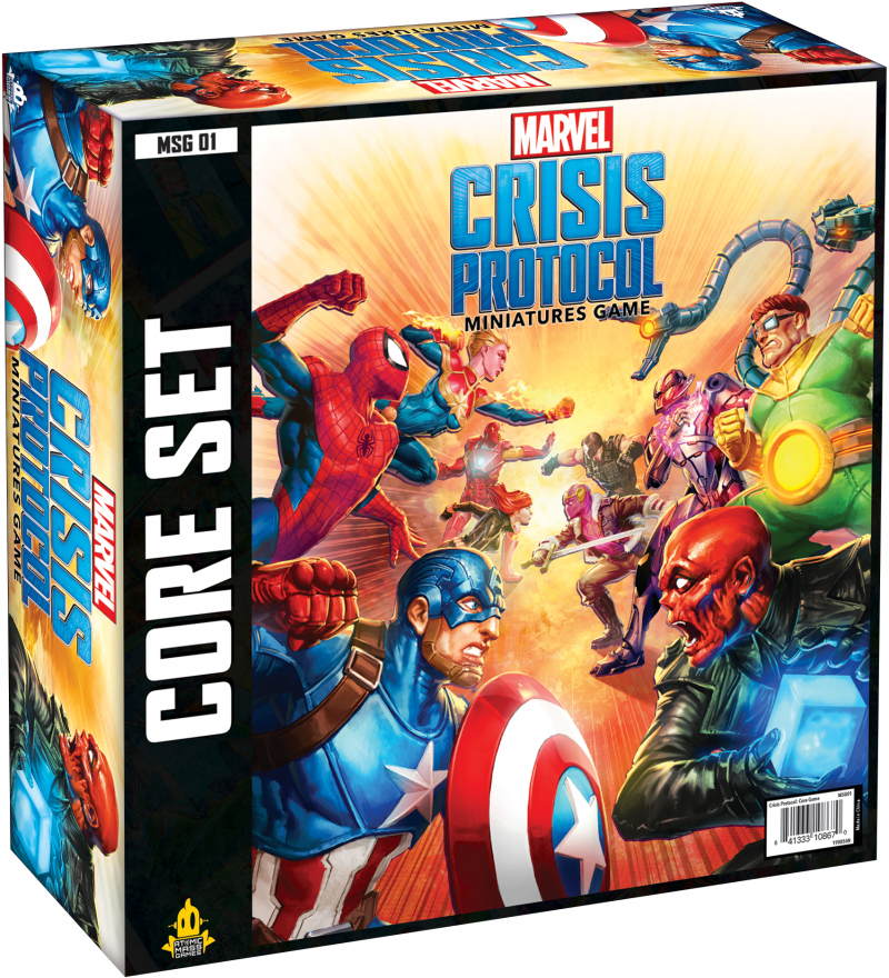 Marvel Crisis Protocol : The Miniatures Game