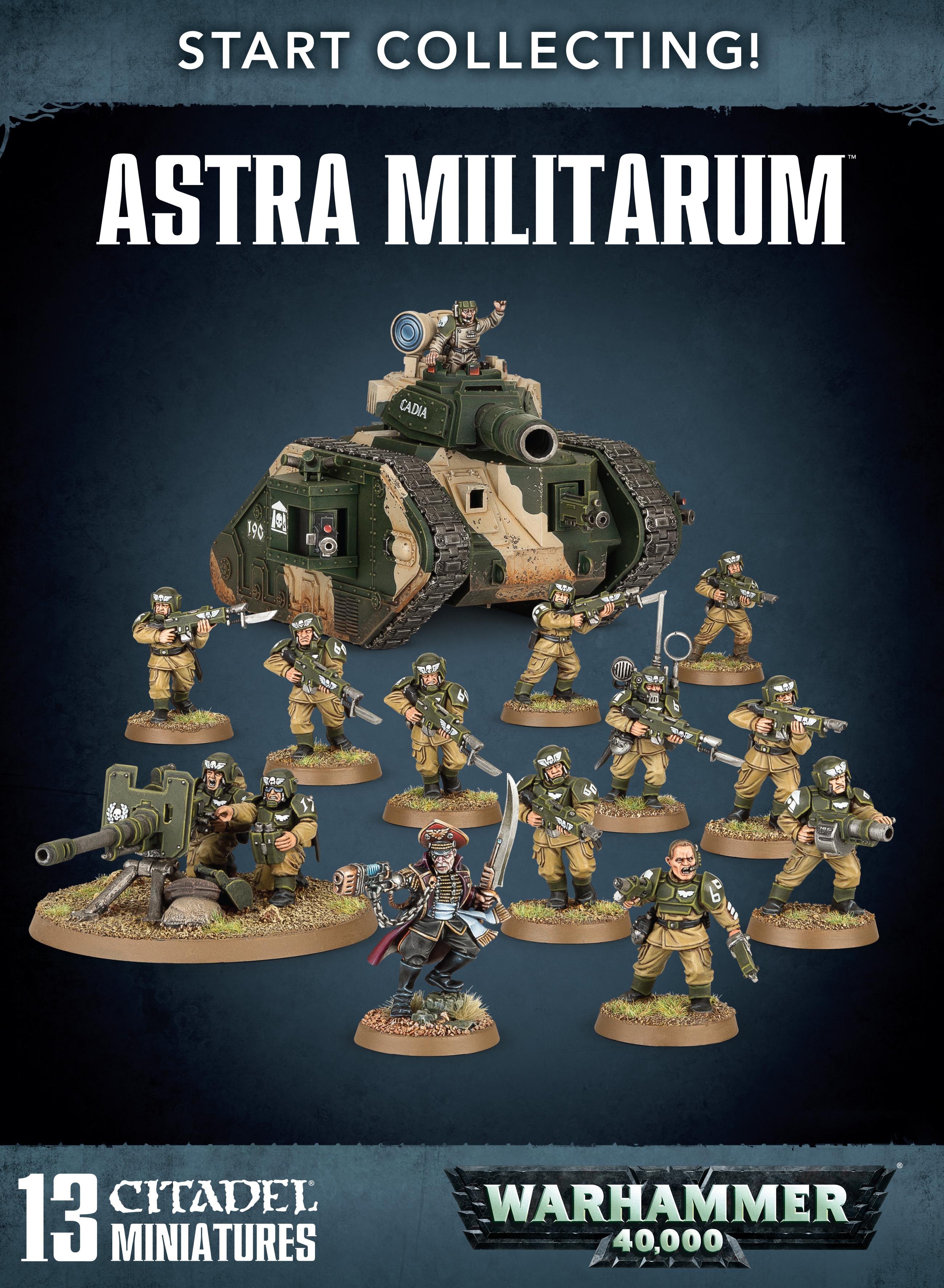 Astra Militarum, Start Collecting