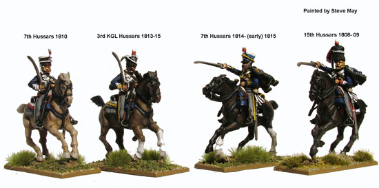 Napoleonic British Hussars