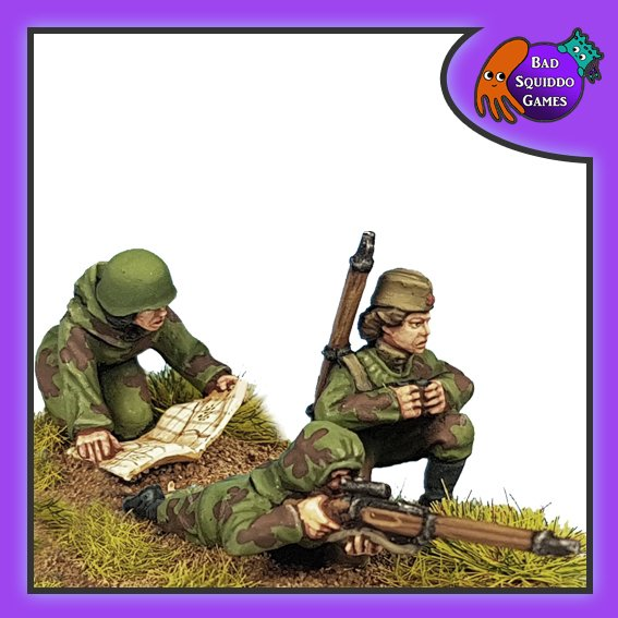 Soviet Scouts A (Sniper Set), Bad Squiddo Games