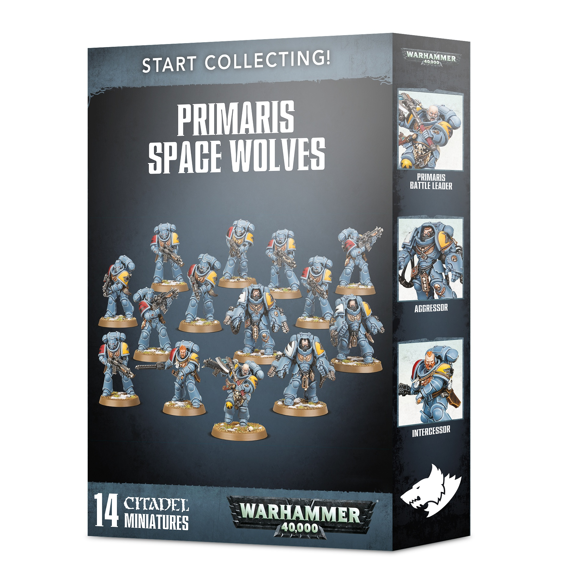 Primaris Space Wolves, Start Collecting