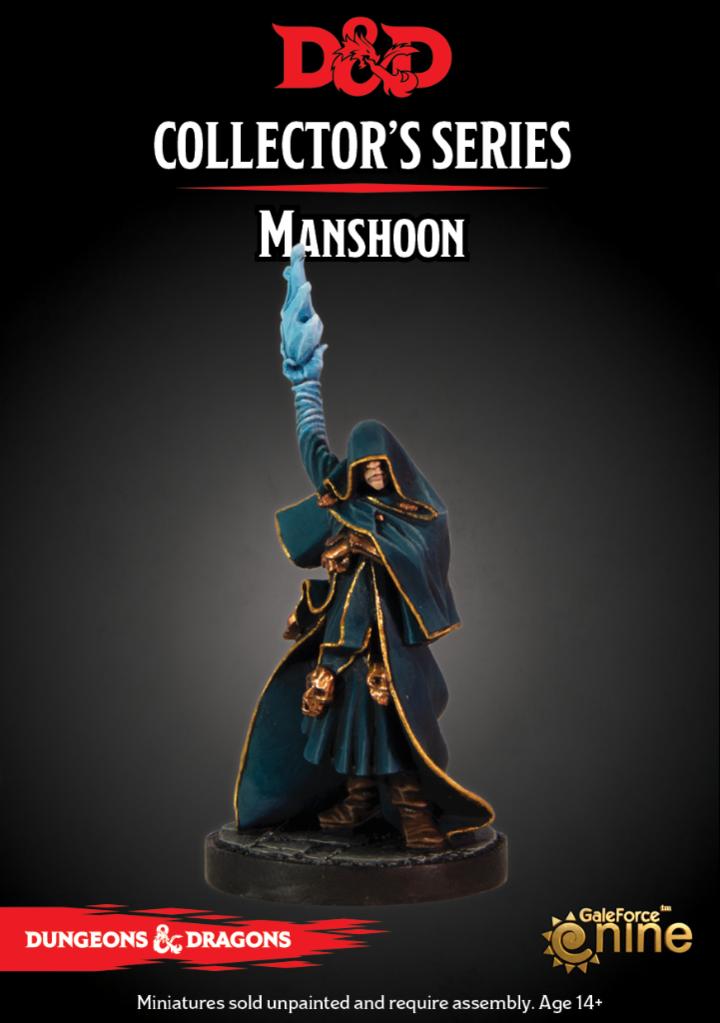 Manshoon, D&D Collector's Series
