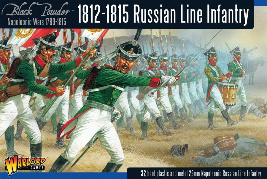 Russian Line Infantry (1812-1815), NW