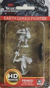 Earth Genasi Male Fighter