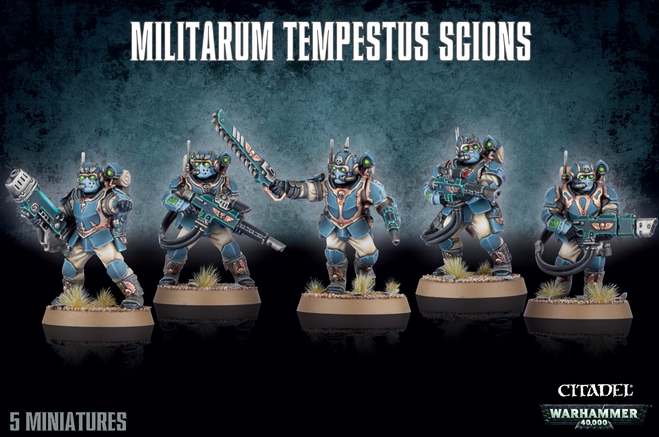 Tempestus Scions, Imperials