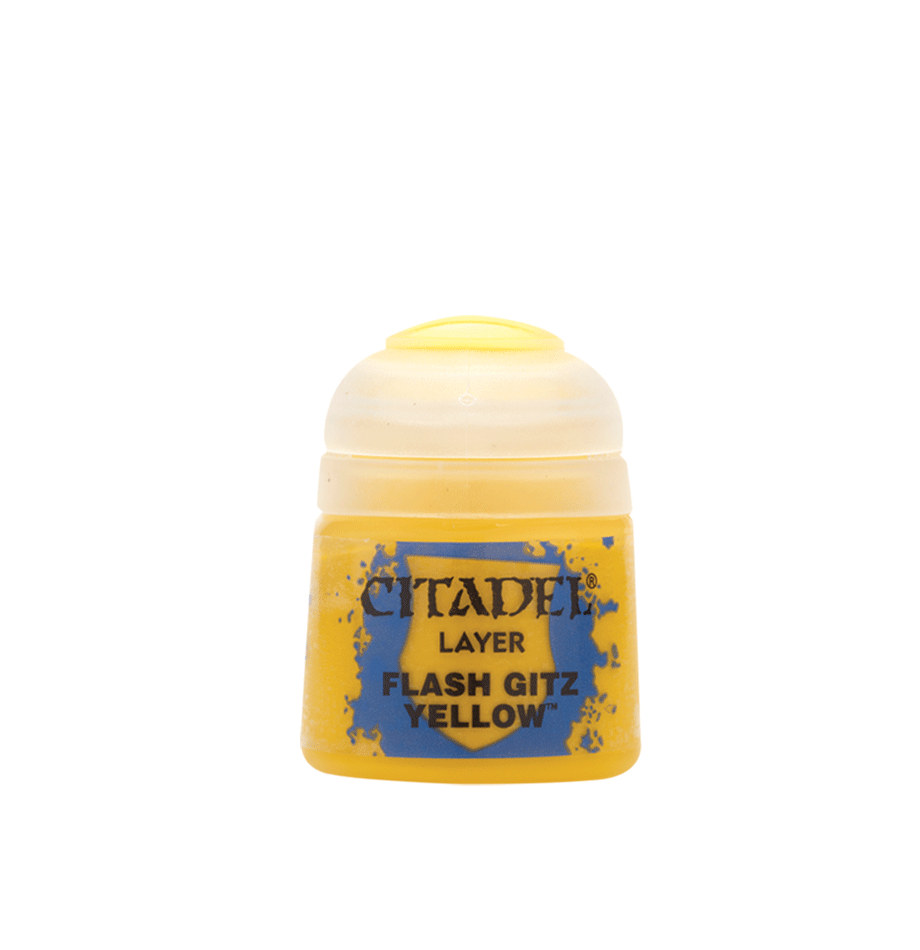 Flash Gitz Yellow, Citadel Layer 12ml
