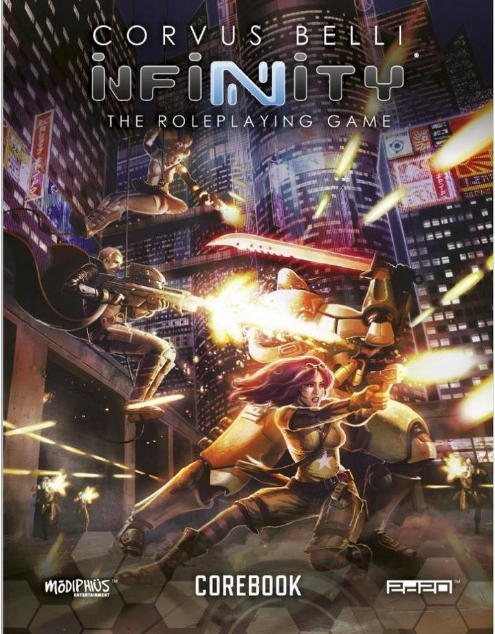 Infinity Role Playing Core Book