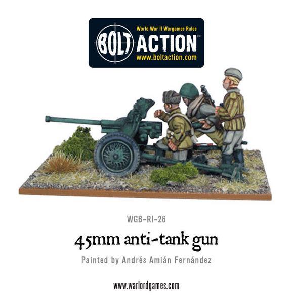 45mm Anti Tank Gun