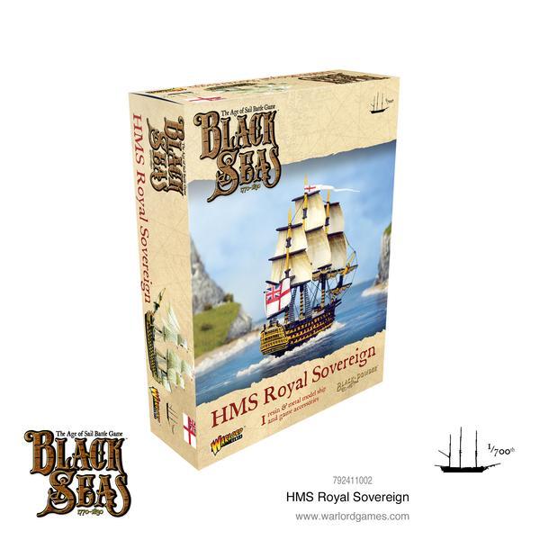 HMS Royal Sovereign, Black Seas