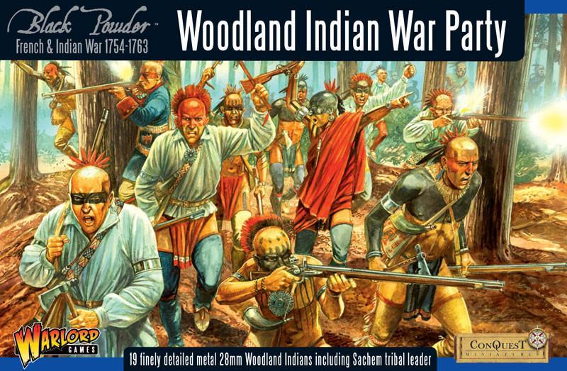 Woodland Indians War Party, FIW