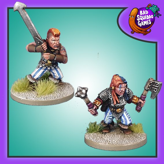 Dwarf Berserkers, Bad Squiddo Games