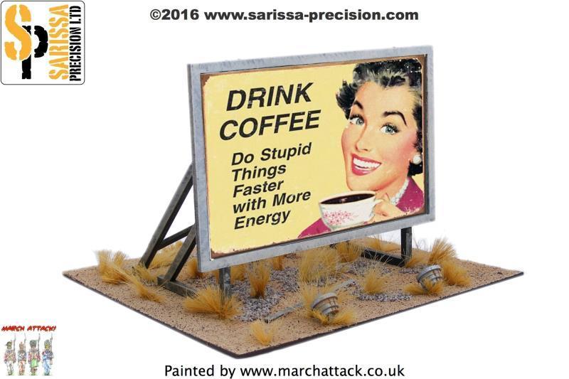 Roadside Billboard, Sarissa Precision