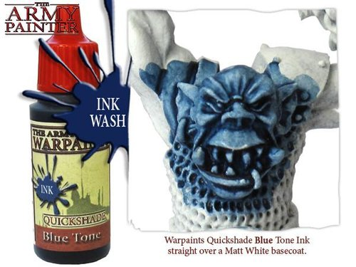 Blue Tone Ink, Army Painter Shade