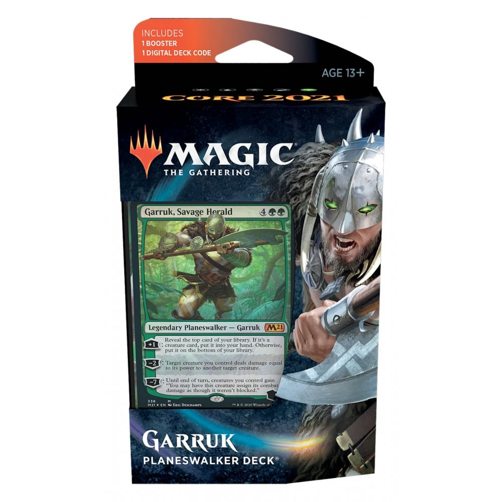 Core Set 2021 Planeswalker, Magic the Gathering