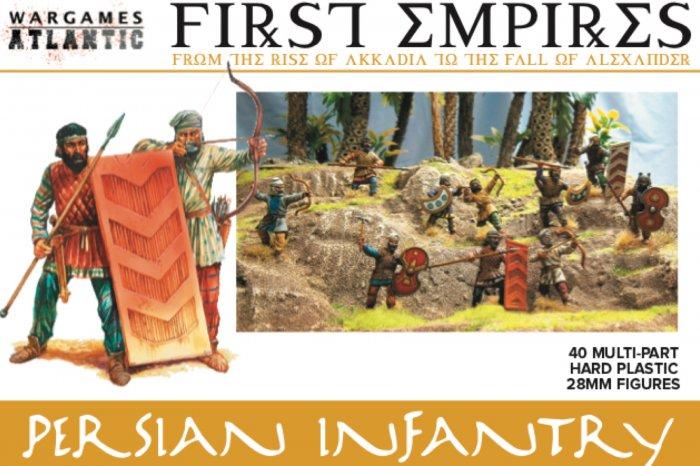 Persian Infantry, Wargames Atlantic