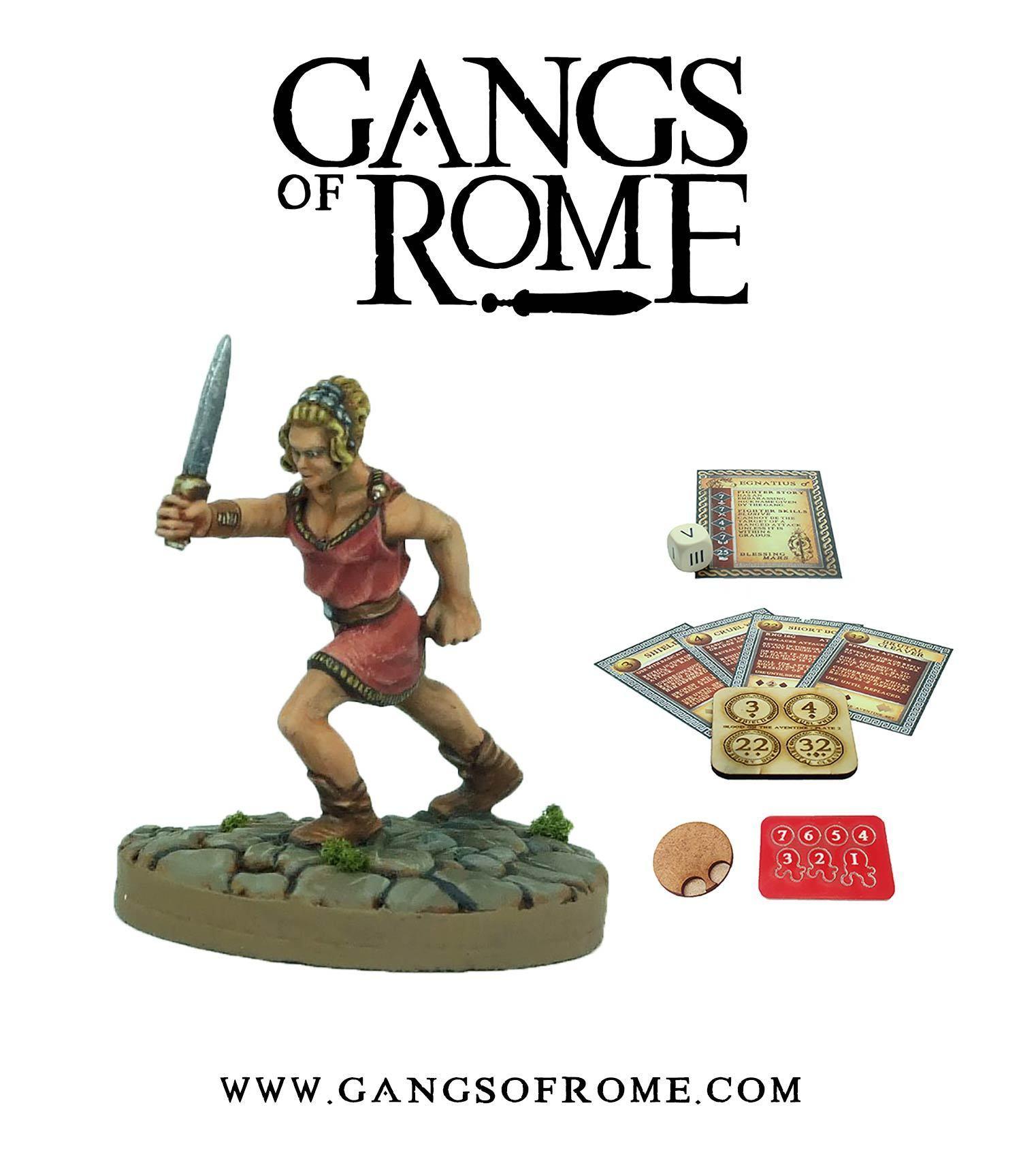 Fighter Decimus, Gangs of Rome