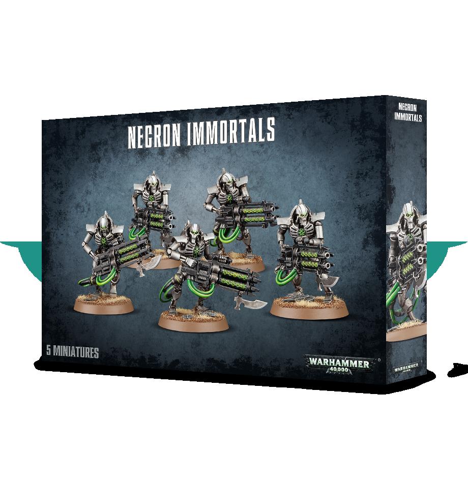 Immortals/Deathmarks, Necrons