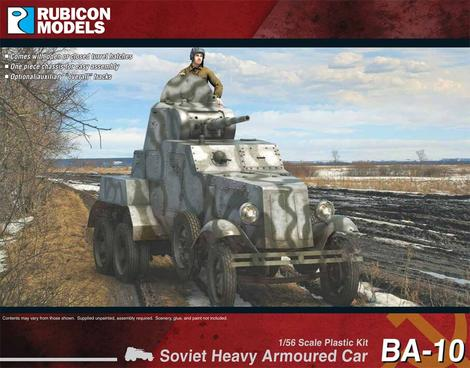 BA-10 Heavy Armoured Car, Rubicon Models