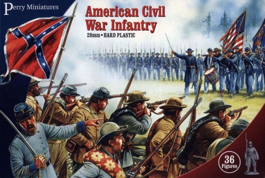 Infantry, American Civil War, Perry Miniatures