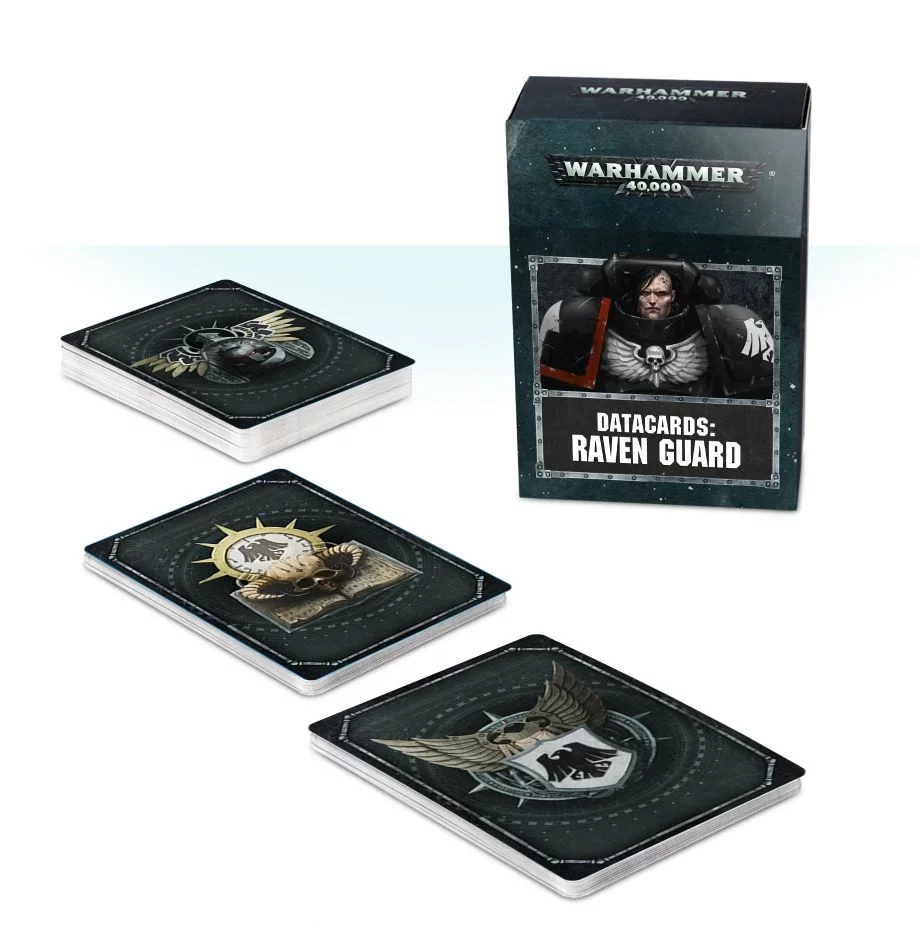 Raven Guard, Datacards