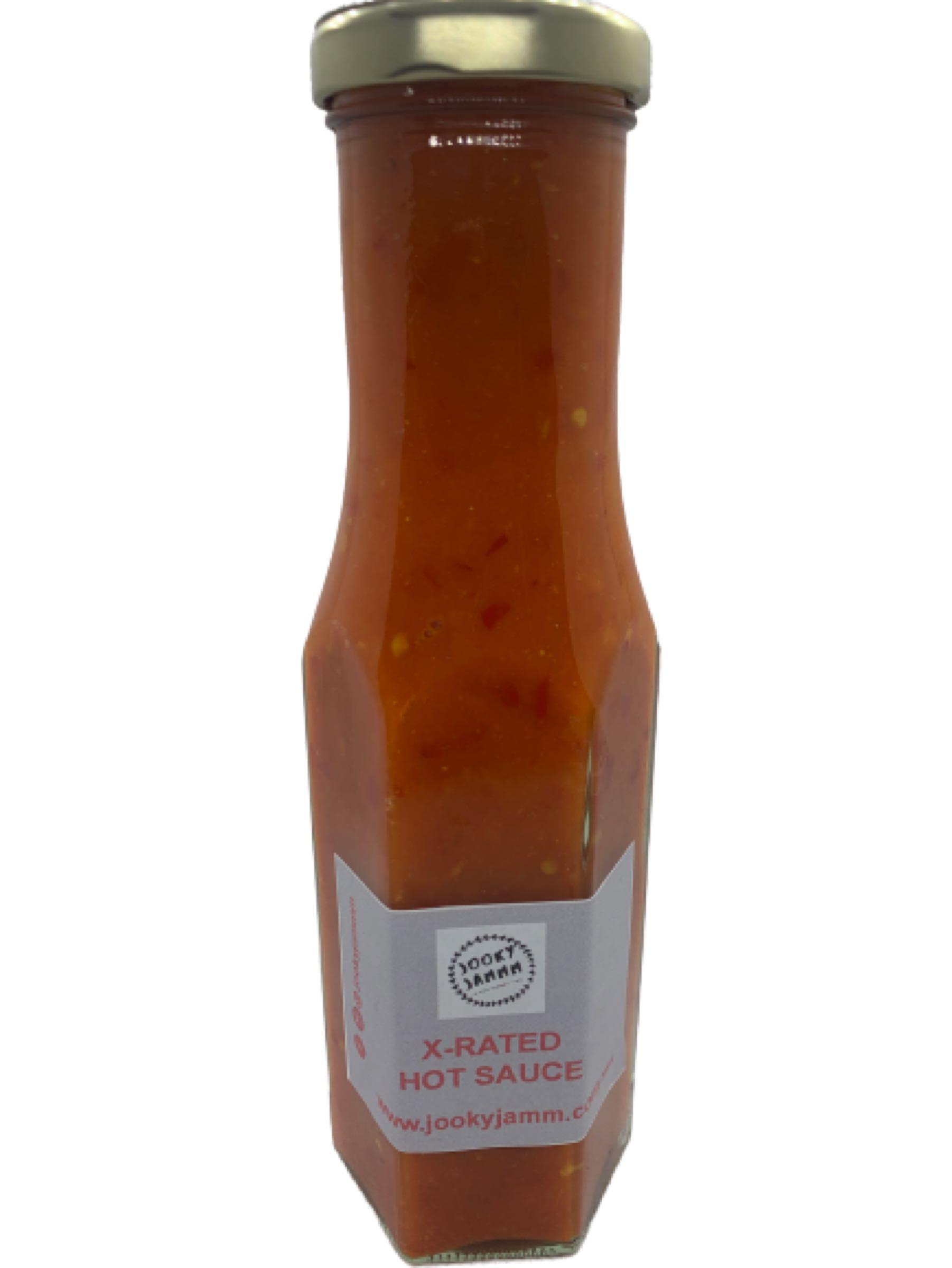 Jooky jammm X-rated hot sauce