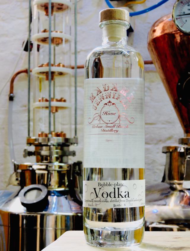Bubble-Plate Vodka 50cl