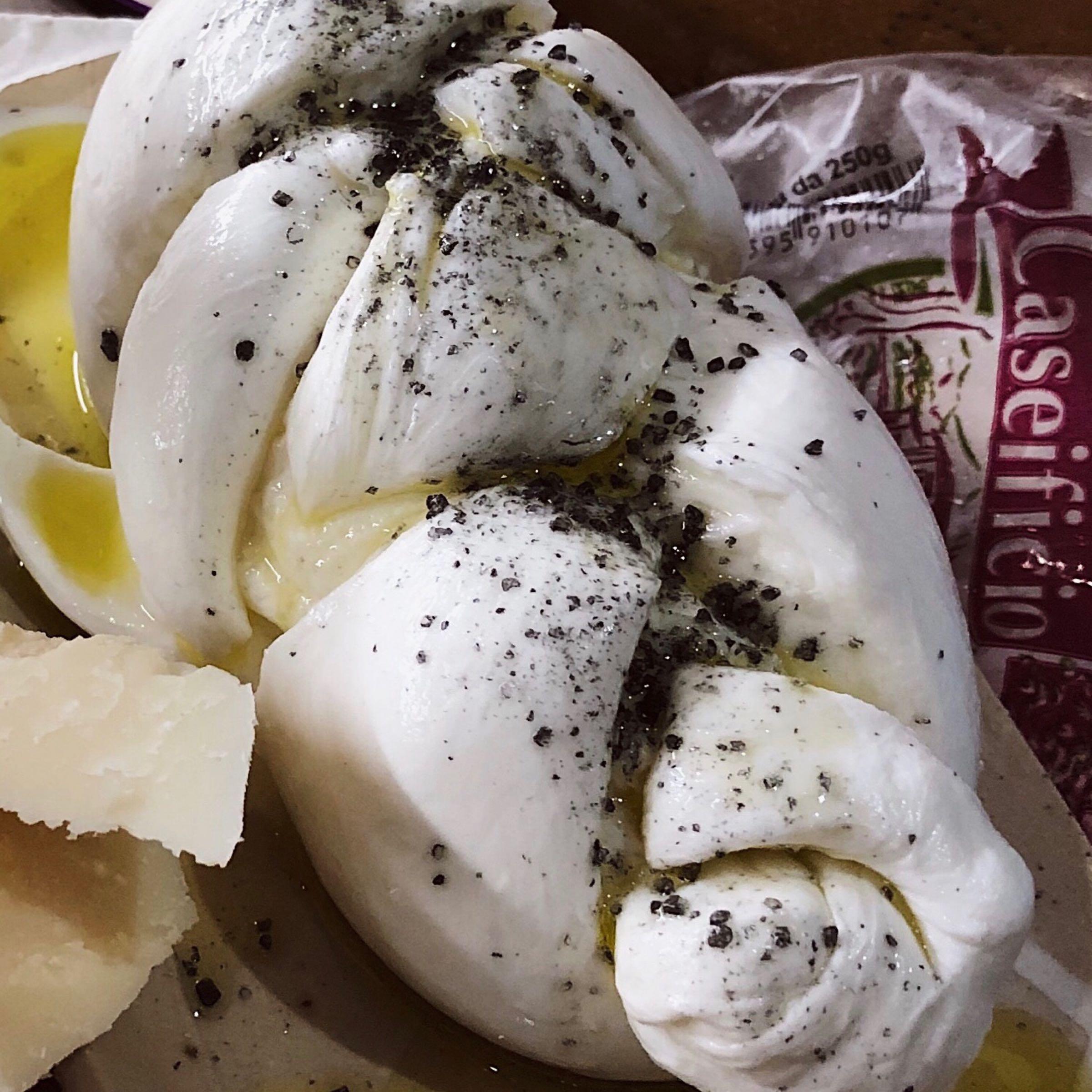 Mozzarella di Bufala flätad opastöriserad