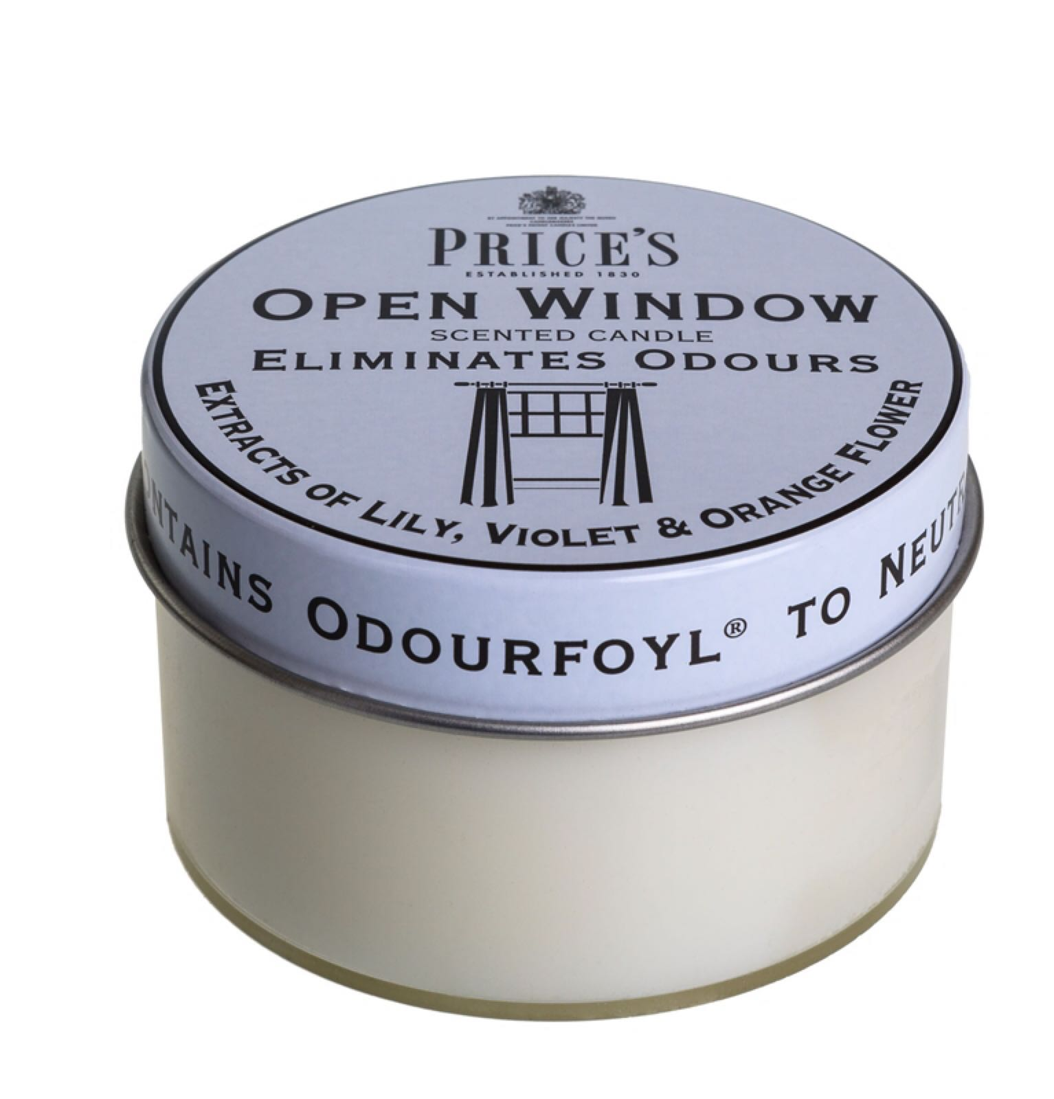 'Open Window' Candle Pot (Was £4.00)