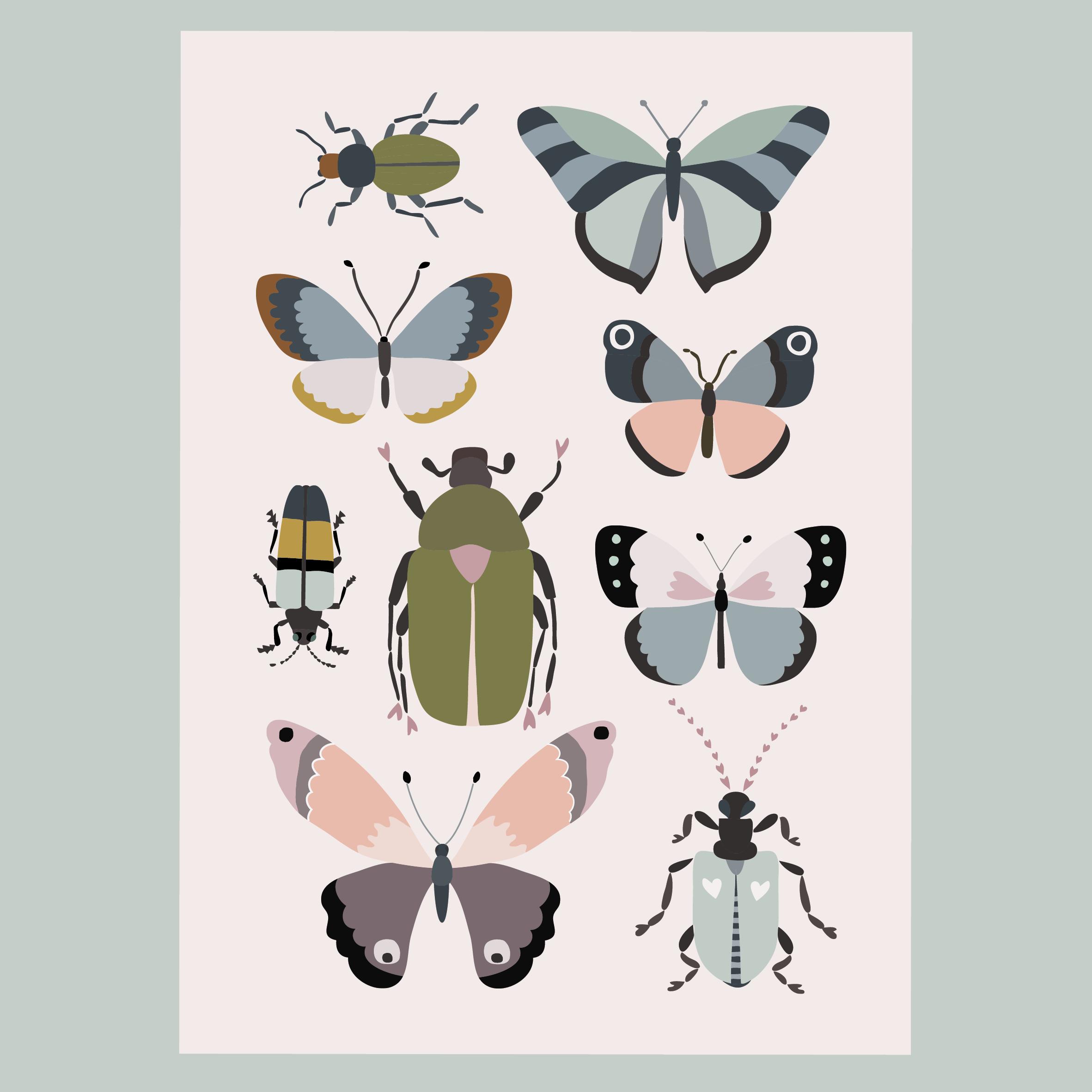 Luonto herää -postikortti