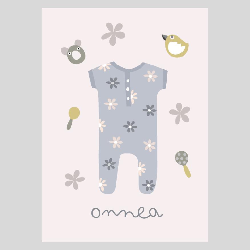 Vauvaonnea postikortti