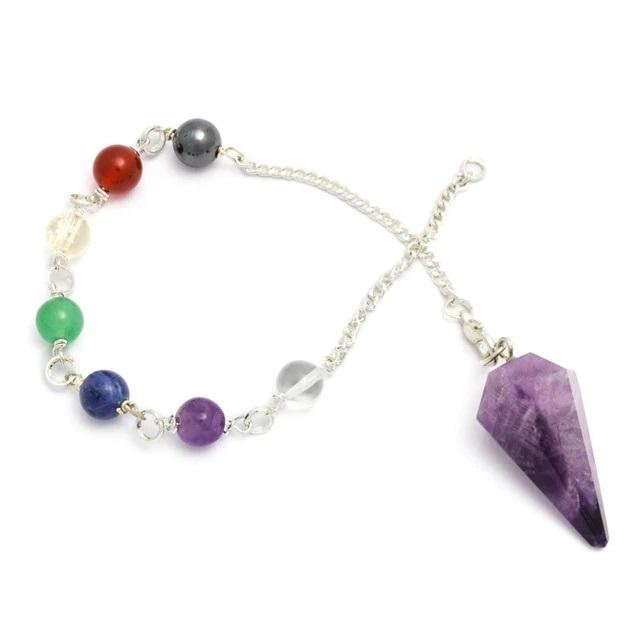 Chakra Crystal Dowsing Pendulum