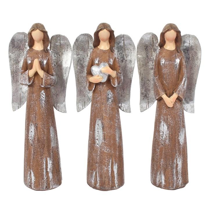 Trio Of Medium Angels