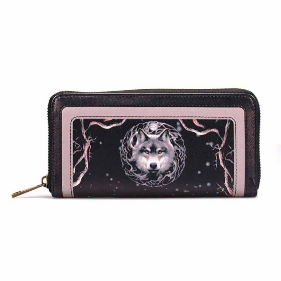 Night Forest Wolf - Anne Stokes Purse