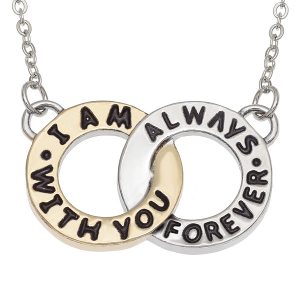"""""""I am Always with You Forever"""" Necklace"""