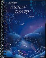 Astro Moon Diary 2021 17.5cm x 14.5cm