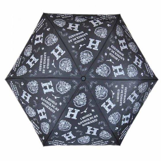 "Harry Potter ""I Would Rather Be at Hogwarts"" Umbrella"